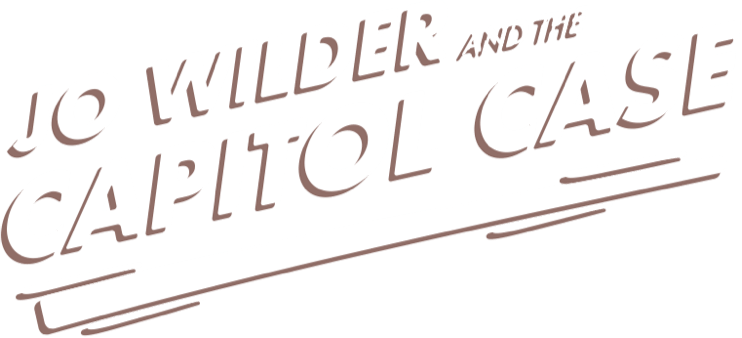 Jo wilder and the capitol case logo
